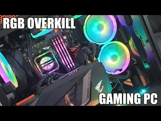 The RGB Overkill Gaming PC (Feat. Gigabyte AORUS RTX 2080 XTREME WATERFORCE)