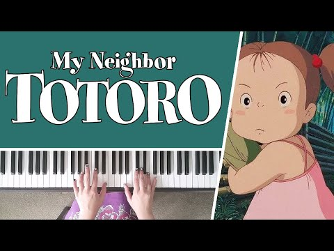 Mei is Missing from My Neighbour Totoro - Piano Cover + SHEET MUSIC