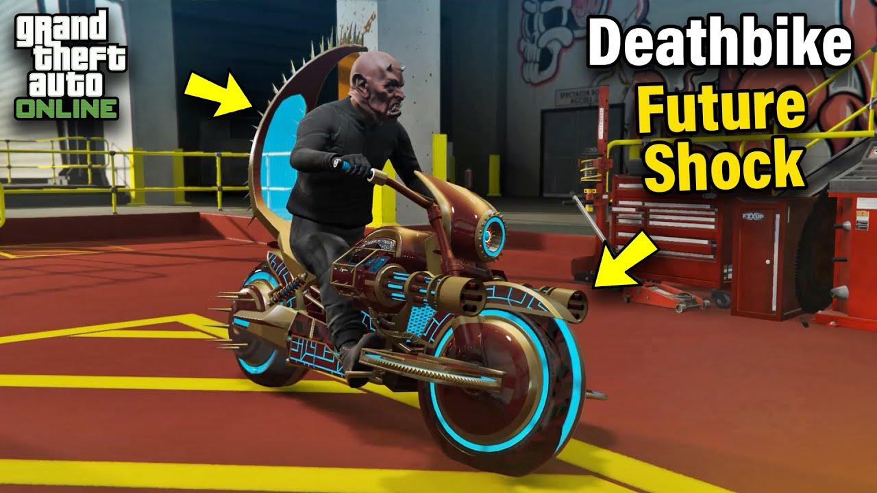 Western Future Shock Deathbike Gargoyle Customization & Price - GTA 5  Online: ARENA WAR DLC