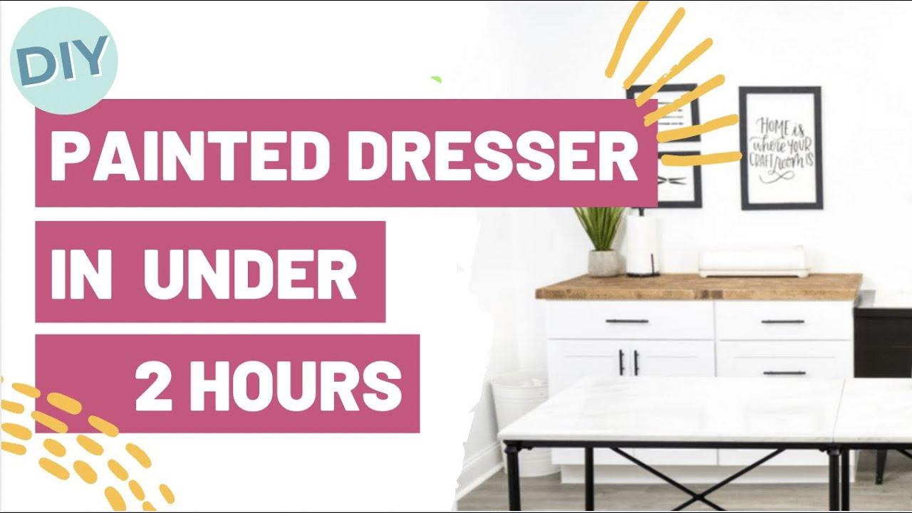 Diy Painted Dresser In Under 2 Hours 006