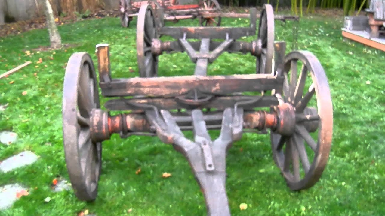 Old Western Wagons Running Gear for Sale for a Sheepwagon YouTube