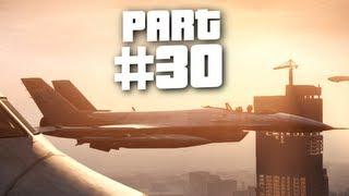 Grand Theft Auto 5 Gameplay Walkthrough Part 30 - Fighter Jet Rage (GTA 5)