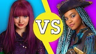 Mal VS Uma! Who's the Badder Villain Kid from Descendants 2? | VS