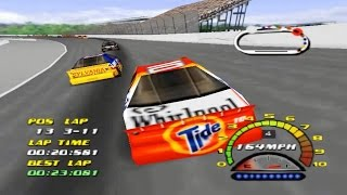NASCAR 2000 (Nintendo 64 Gameplay)