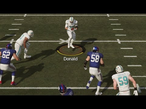 Madden 19 Ultimate Team - Aaron Donald Interception! MUT 19 Gameplay