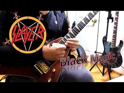 Slayer - Black Magic (Guitar Cover With All Solo)