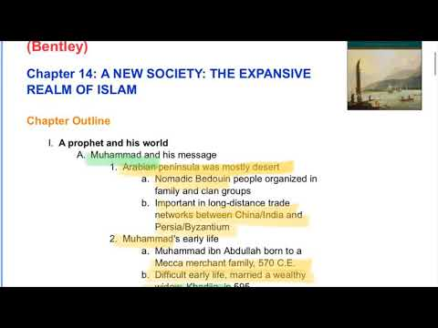 APWH Islam Ch 14 Traditions Encounters YouTube