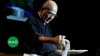 Soba Master Tatsuru Rai Demonstrates His Craft