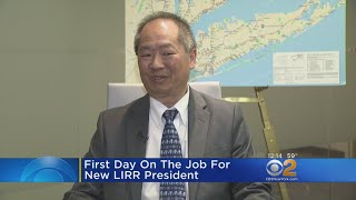 First Day On The Job For New LIRR President