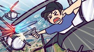 Helicopter VS Pistol   GTA 5   GTA 5 Online Funny Moments
