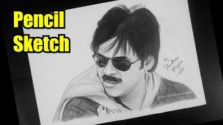 Drawing PAWAN KALYAN Sketch | Tollywood Actor