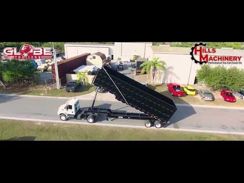 Hills Machinery - Globe Trailer Demolition End Dump Trailer