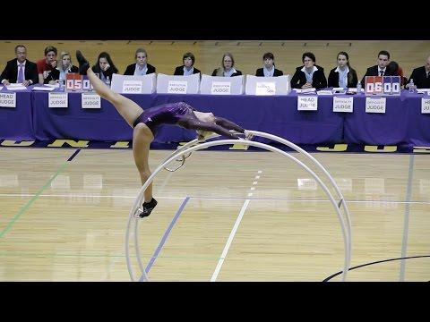 World Championships in Gymwheel 2016 Team Final Germany Yana Looft Straight line