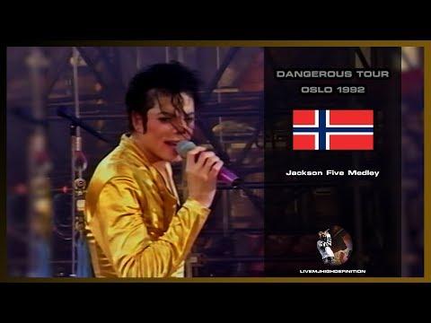 Michael Jackson  Jackson Five Medley  Live Oslo 1992  HD