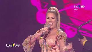 08 Letitia Moisescu &amp Sensibil Balkan - D A I N A (LIVE Eurovision 2019 Romania Final)