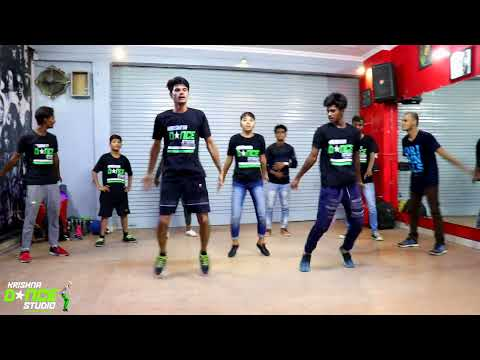 Krishna Dance StudioHR II Diljit-Radio II Bhangra II Class Dance Video.