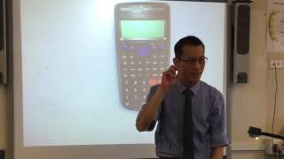 Correlation Coefficient (2 of 2: Evaluating with a calculator)