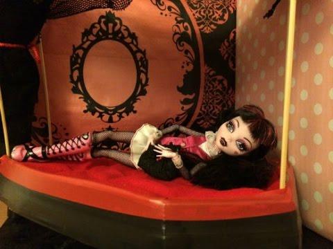 Comment fabriquer un lit pour draculaura monster high - Comment fabriquer un lit mural ...