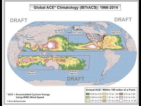 Tropical ACE Climatology