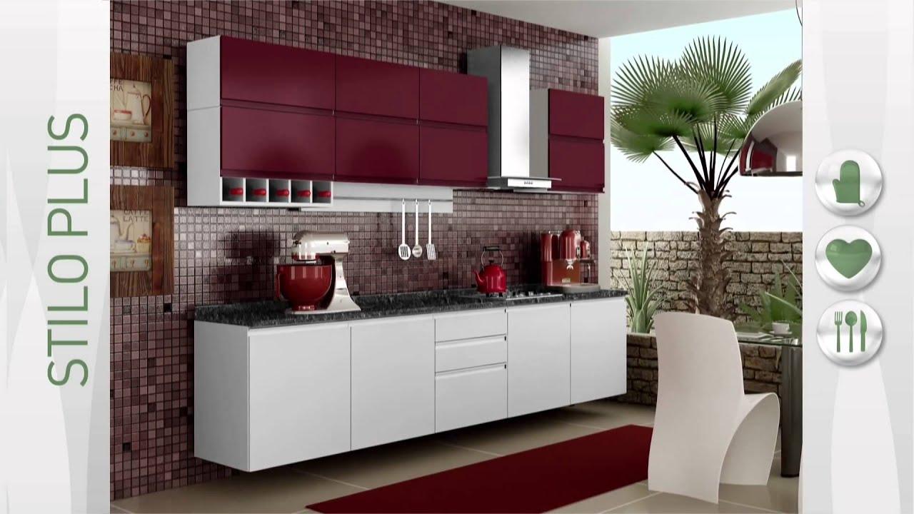 Cozinhas De A O Itatiaia Stilo Cozinha Completa Stilo Plus De A O