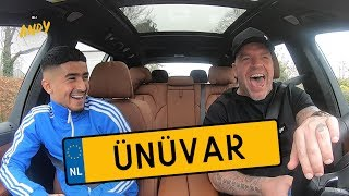 Naci Ünüvar - Bij Andy in de auto! (English subtitles)