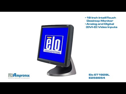 Elo ET1928L E258654 IntelliTouch Desktop Sales | Service | Repair | Exchange | Replacement