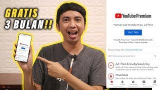 Gratis 3 Bulan Youtube Premium Cara Daftar Dan Fitur Youtube Premium Gratis 3 Bulan Youtube