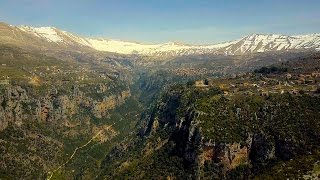 Lebanon - Qadisha Valley - the most beautiful place in the world? 4K drone footage
