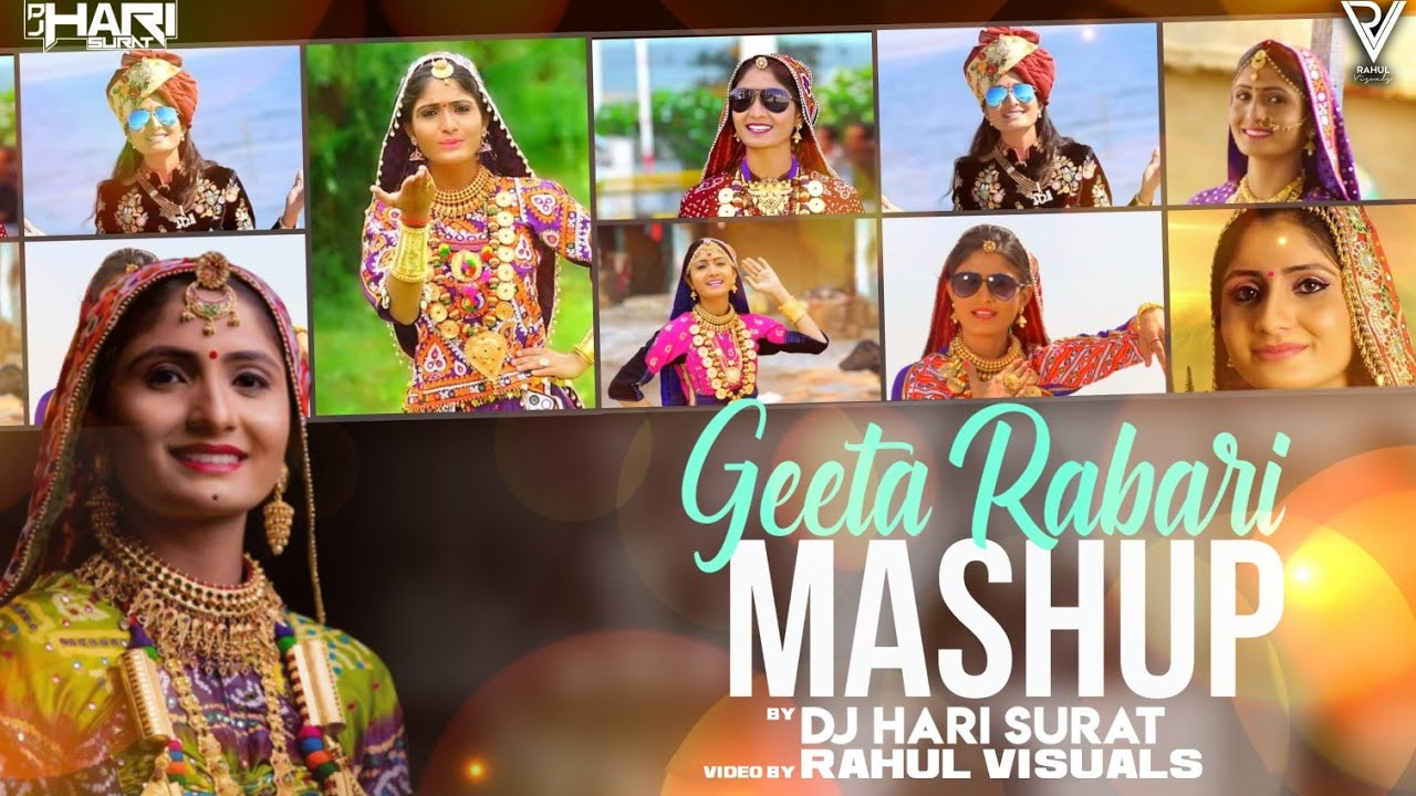 Geeta Rabari Mashup | DJ HARI | New Latest Gujarati Mashup | HD VIDEO