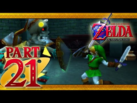The Legend of Zelda: Ocarina of Time 3D - Part 21 - Forest Temple
