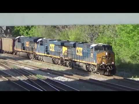 CP Spring, NS Greenville District & CSX in Tucker, GA 4/12 & 4/13/18