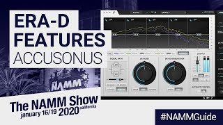 Accusonus at NAMM 2020 | ERA-D Multi-band Audio Restoration Suite