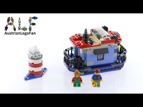Lego Creator 31051 Boathouse - Lighthouse Point Model 3of3 - Lego Speed Build Review