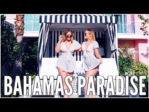WE WENT TO THE BAHAMAS & STAYED IN A BABY PINK HOTEL - WEEKLY VLOG | LucyAndLydia