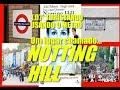 Rumo a Londres 1.07 - Turistando de Metrô: Notting Hill