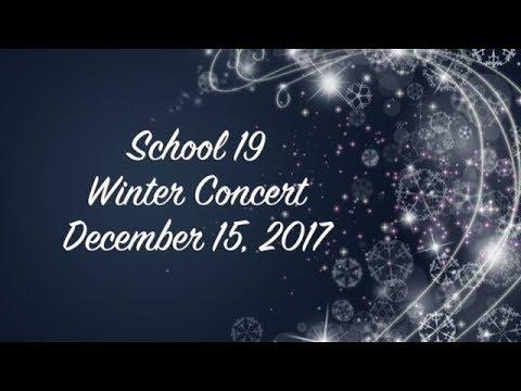 Menlo Park Terr. School #19 Winter Vocal Cocnert