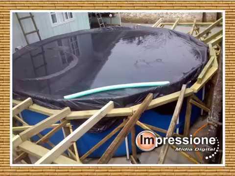 Deck piscina intex youtube for Piscinas para armar