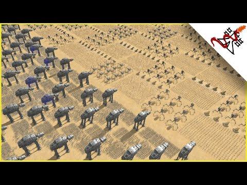 MASSIVE REPUBLIC vs CIS WAR - Star Wars: Galaxy at War MOD