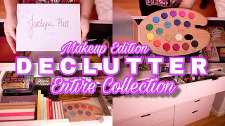 LAST MAKEUP COLLECTION DECLUTTER OF 2019 😱 MASSIVE