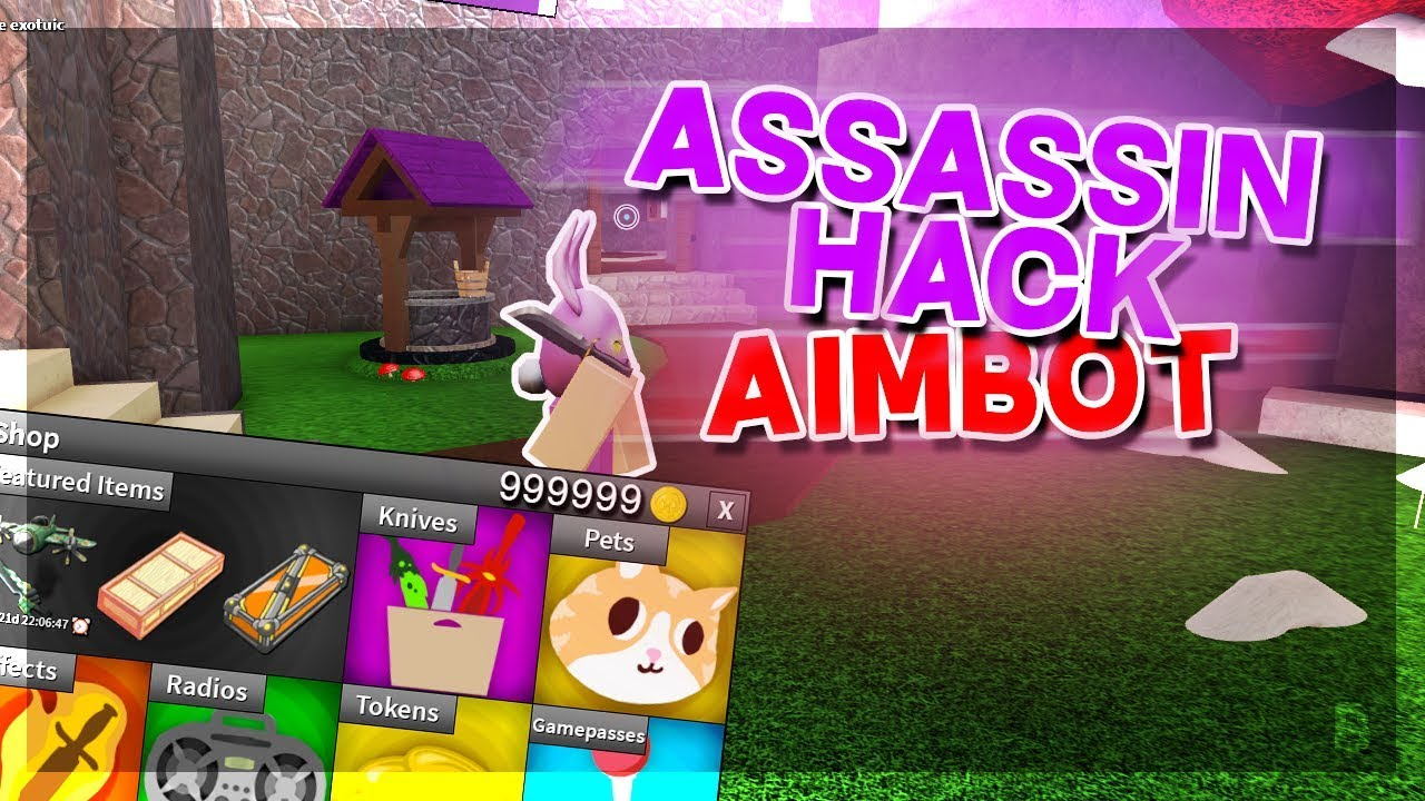 Assassin Roblox Unlimited Coins Hack New Assassin Hack Script Aimbot Kill All Unlimited Coins More Working Youtube