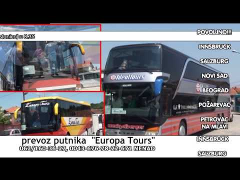 Europa Tours 2015.  reklama