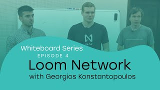 Whiteboard Series with NEAR | Ep: 4 Georgios Konstantopoulos from Loom Network |