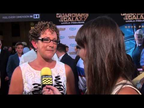 Nicole Perlman @ Guardians of the Galaxy Premiere  AfterBuzz TV