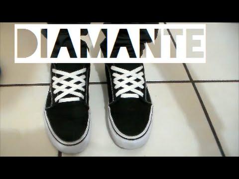 Super baratas calidad autentica verse bien zapatos venta Agujetas en forma de Diamante | Soy Kats - YouTube