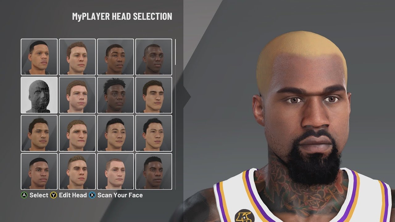 Kanye West Face Creation 2k20 How To Build Kanye West In Nba 2k20 Youtube