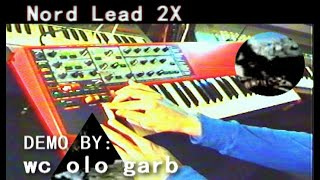 Clavia Nord Lead 2x - demo (1 of 2) by syntezatory.net.pl