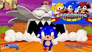 SegaSonic The Hedgehog ARCADE GAME GOODNESS