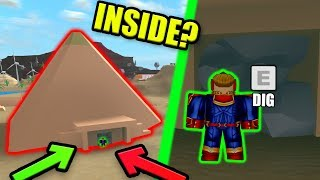WHAT'S INSIDE THE MAD CITY PYRAMID? | Roblox Mad City Season 2