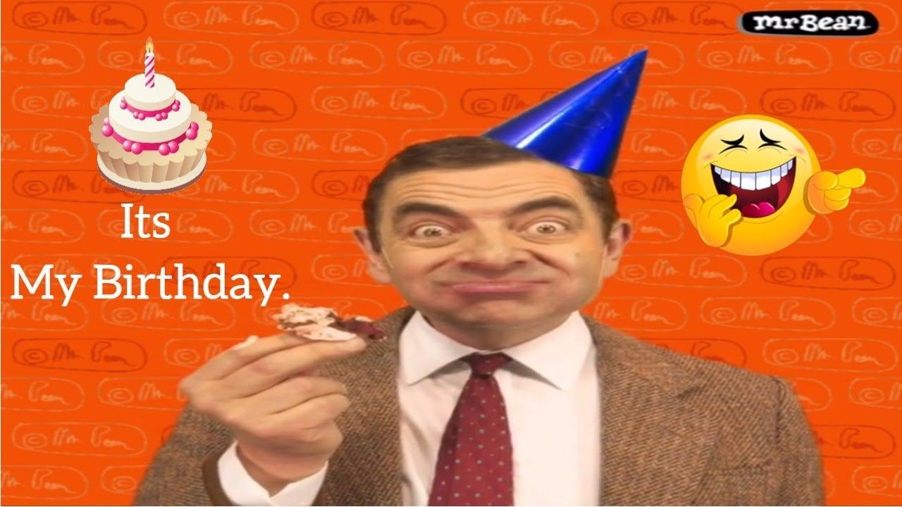 Mr Bean S Happy Birthday Funny Video 2017 By Mr F Rabby Youtube