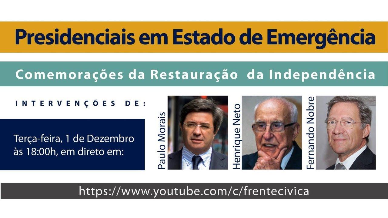 Paulo de Morais, Henrique Neto e Fernando Nobre » Urgente » Grândola Vila Morena 2020
